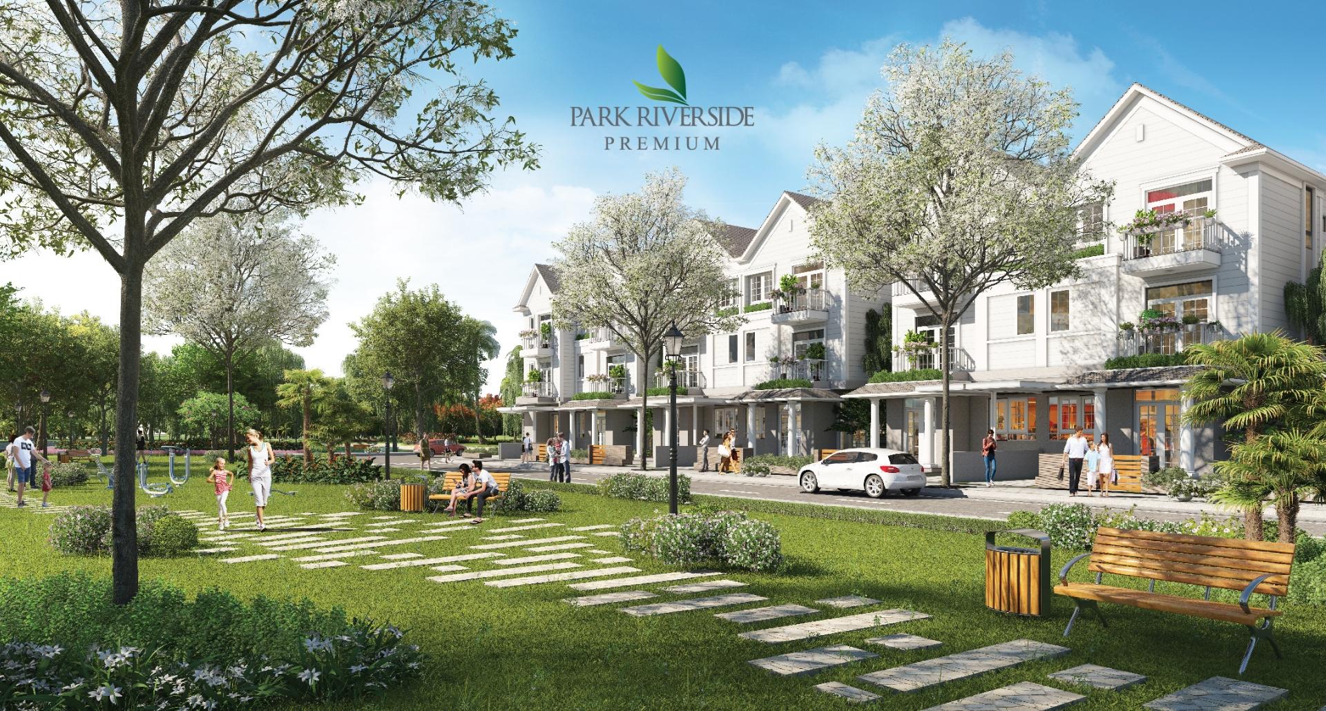 Biệt thự cuối hồi Park Riverside Premium – cuộc sống tĩnh tại