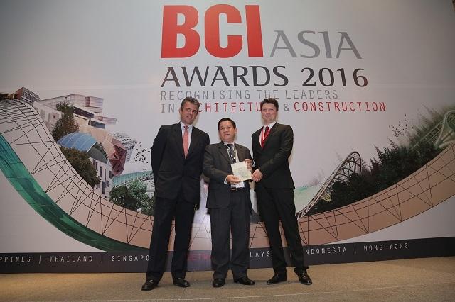 MIKGroup đạt giải thưởng BCI Asia Awards