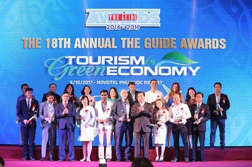 Sol Beach House đạt giải Khu nghỉ dưỡng Xuất sắc nhất The Guide Awards 18