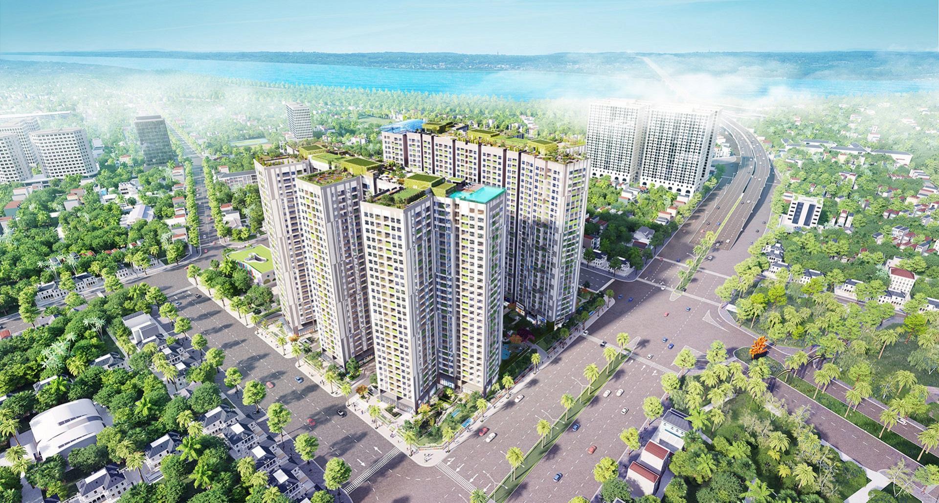 Tổ hợp căn hộ chung cư cao cấp Imperia Sky Garden chính thức ra mắt