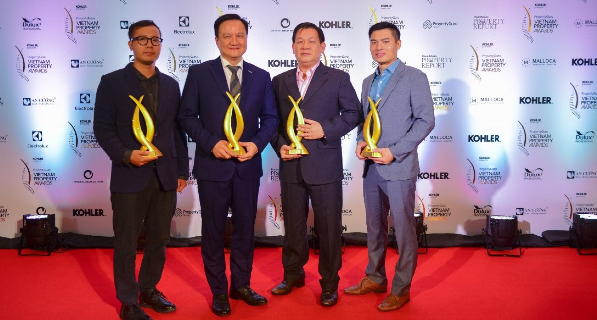 MIKGROUP WON GREAT AWARDS AT PROPERTYGURU VIETNAM PROPERTY AWARDS 2018