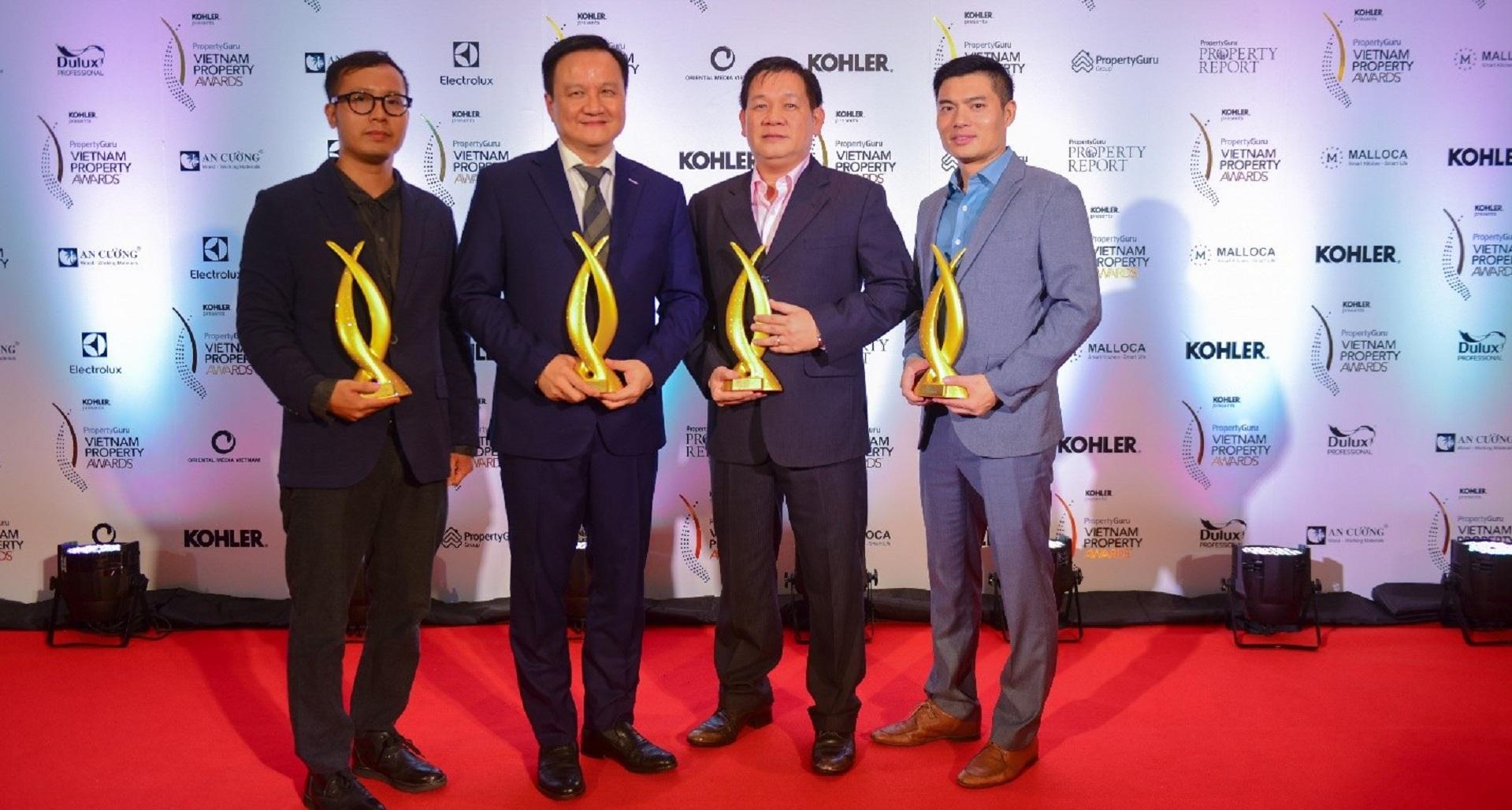 MIKGROUP WON GREAT AWARDS AT PROPERTYGURU VIETNAM PROPERTY AWARDS 2018