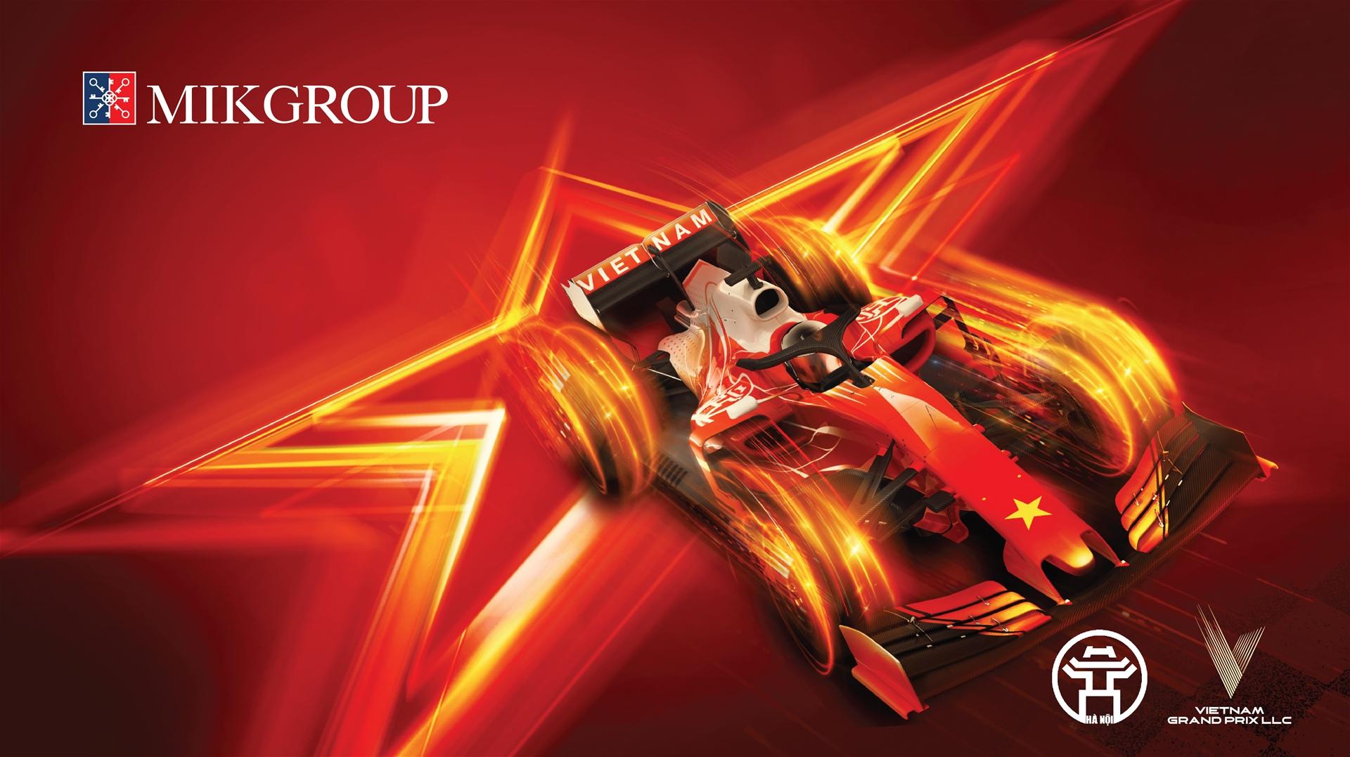 Vì sao MIKGroup đồng hành cùng giải đua F1?