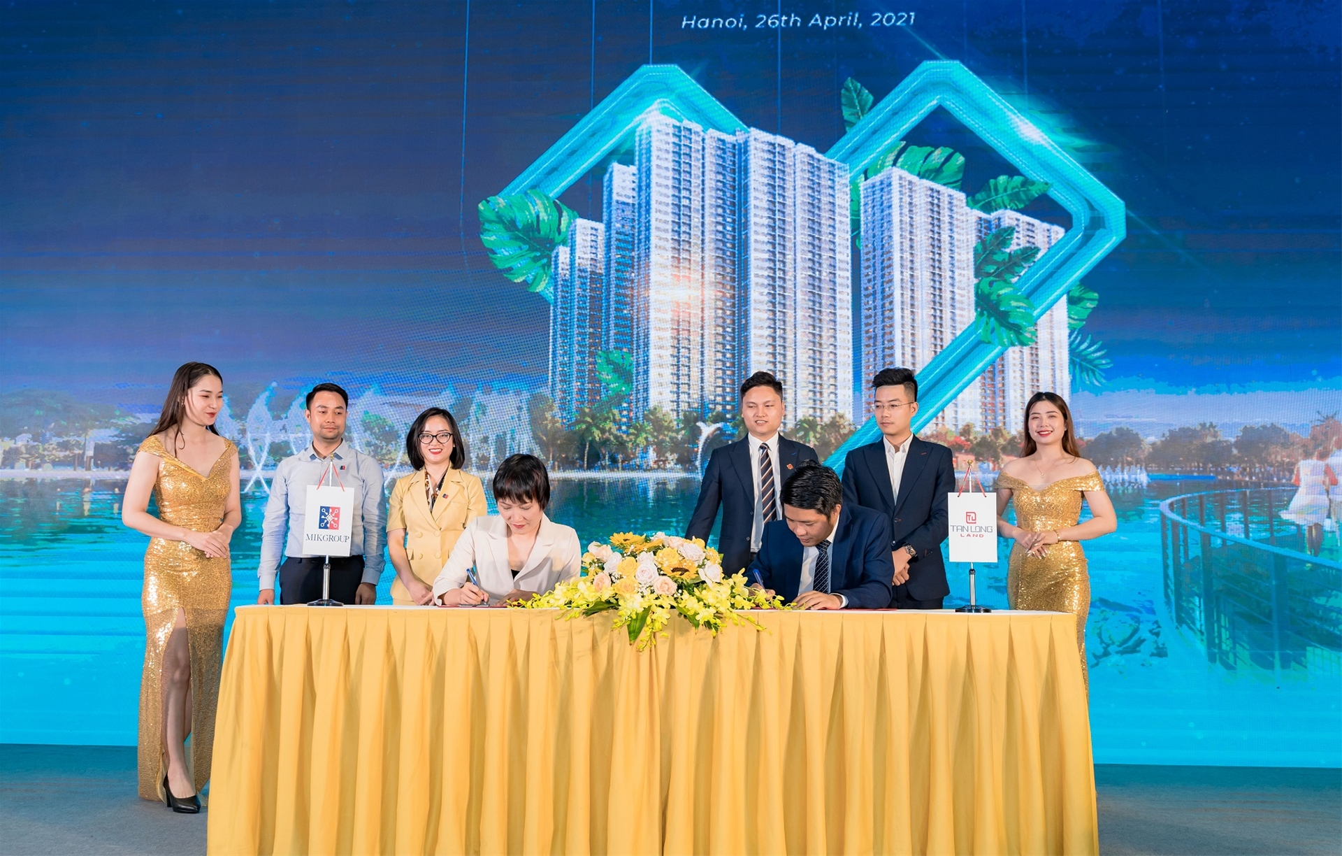 MIKGroup chính thức phân phối căn hộ Imperia Smart City cho người nước ngoài