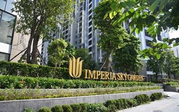 Hỗ trợ cư dân mùa dịch: Chủ đầu tư Imperia Sky Garden không thu phí dịch vụ trong 3 tháng